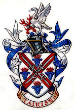Arms of Captain WW Sheppard OBE RN