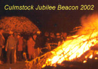 Photo: Culmstock Golden Jubilee Beacon 2002