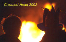 Photo: Crowned Head at Culmstock Beacon 2002