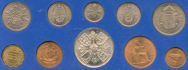Photo of 1953 coronation money set
