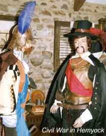 Photo: Hemyock Castle Civil War Tableau